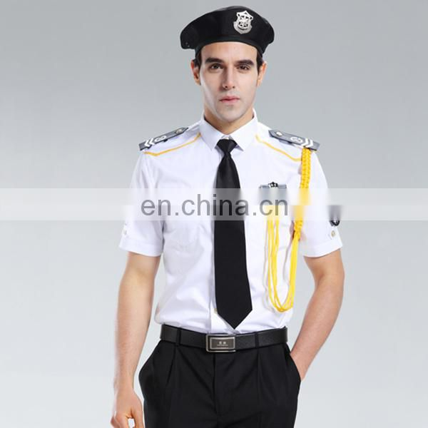 ce05b12eb ... Factory wholesale custom police security guard office safety staff  uniform for management