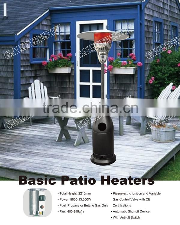 Outdoor Gas Orchard Heater Stand Up Heater Powder Coated