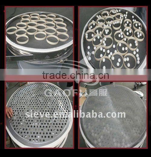 Food-grade silicone rubber gasket for vibrating screen machine