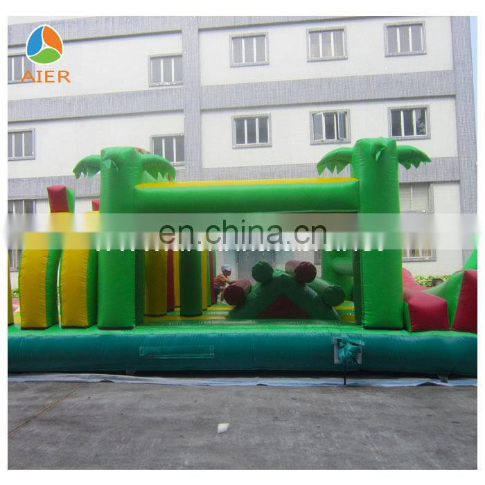 2015 Popular Giant Jungle inflatable obstacle course for sale