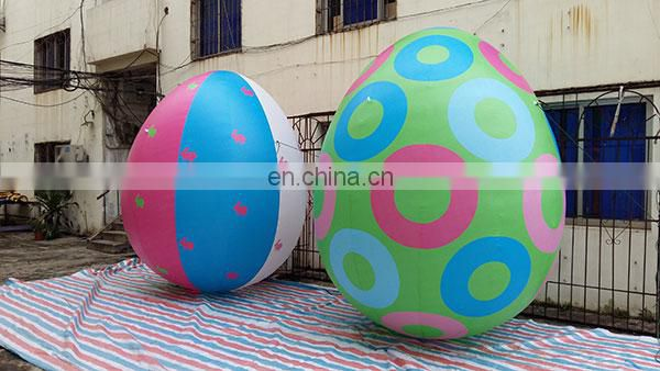 decoration inflatable painted egg inflatable ball balloon for sale
