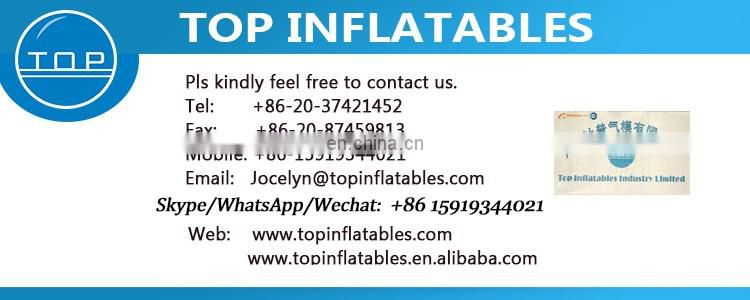 TOP INFLATABLES New design jumping giant inflatable water slide for kids