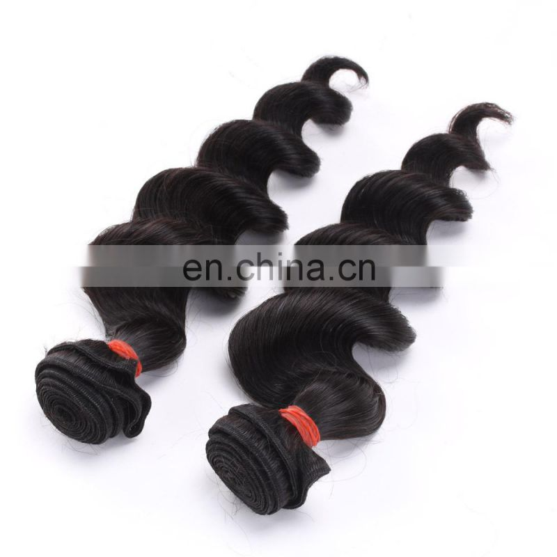 bundle weft Brazilian Remy Virgin human 100% loose human hair bulk extension