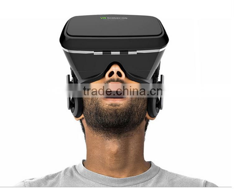 VR Shinecon high quality vr 3d glasses virtual reality 3d glasses cheap price HMD 3d vr headsets
