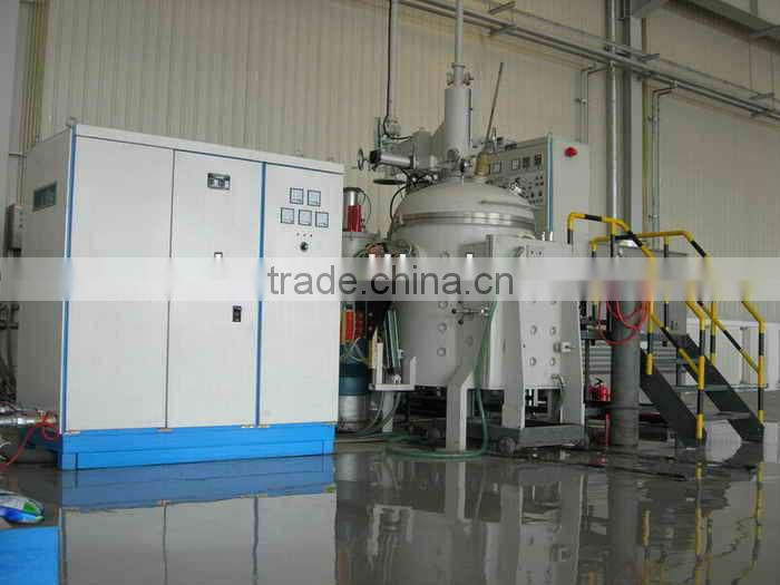 Laboratory induction furnace for melting/sintering/coking