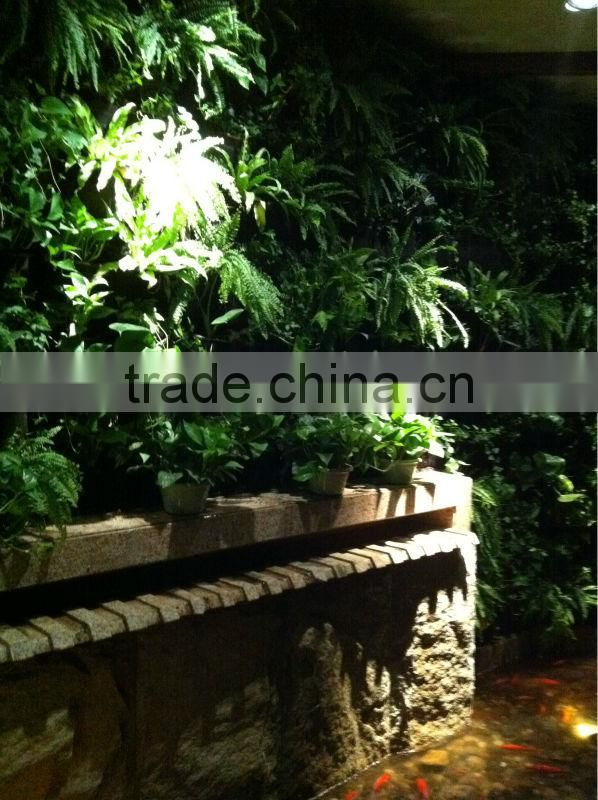 artificial plant wall landscaping