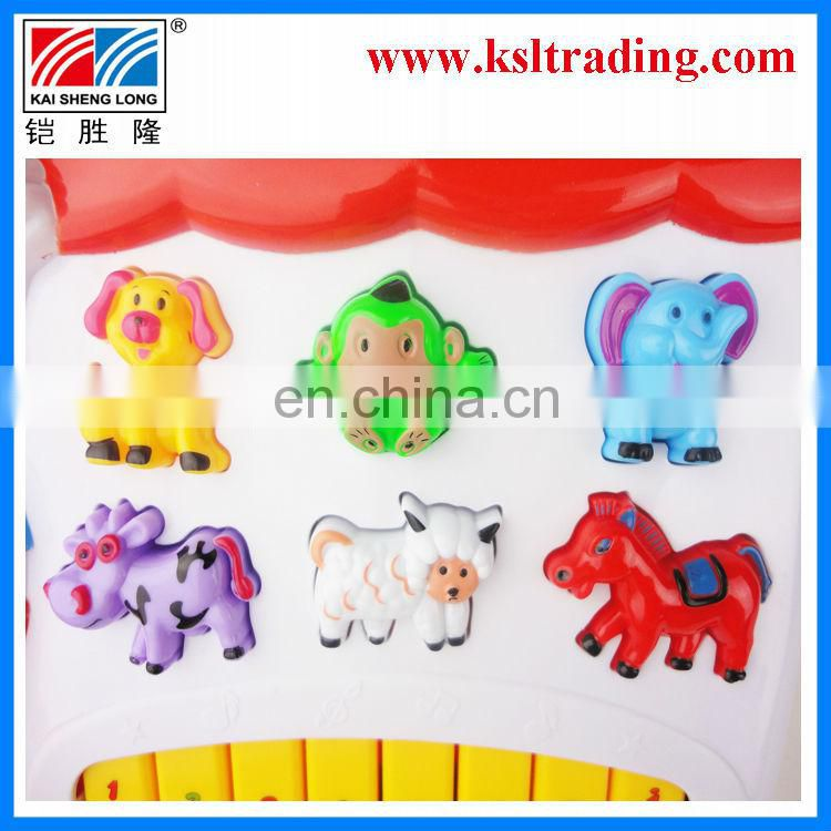 musical toys plastic animal electronic musical organ for kids