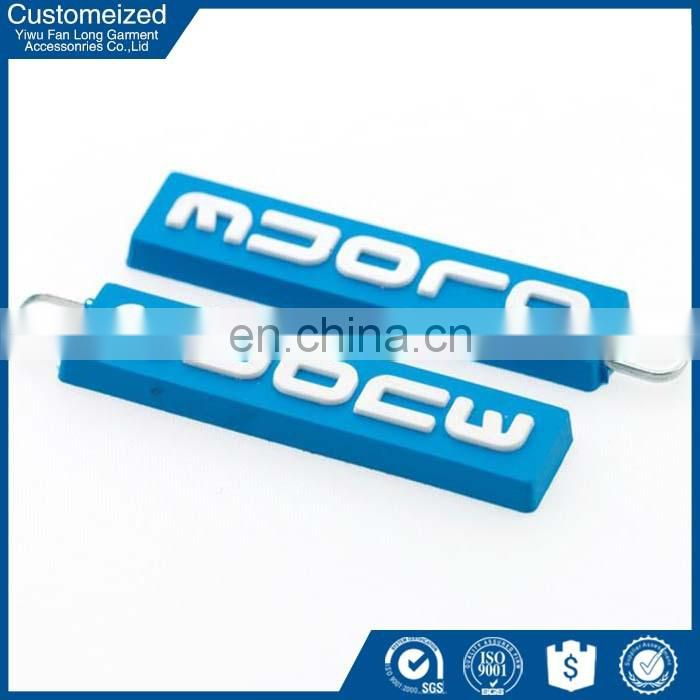 Custom design rubber zipper puller wholesale