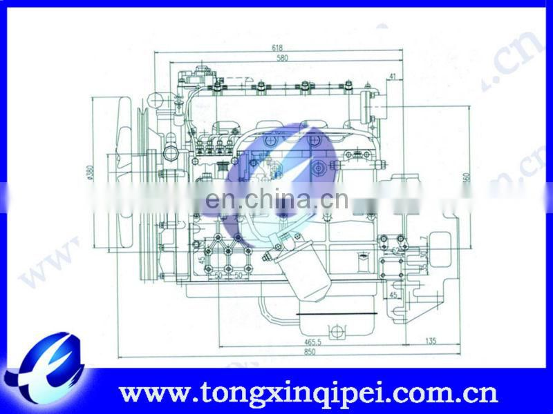 N490QB diesel engine assembly/truck engine parts