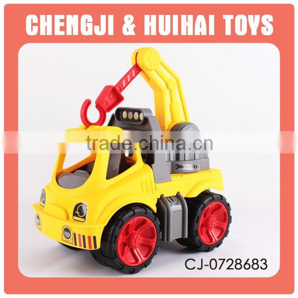 Best sale plastic musical friction power toy fire truck for kids