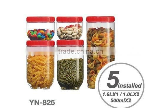 food storage jar set