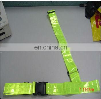 PVC Reflective triangle belt(EN13356 certificate)
