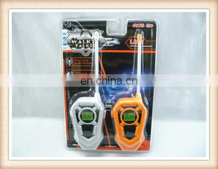 New product kids interphone toys plastic walkie talkie toy phones