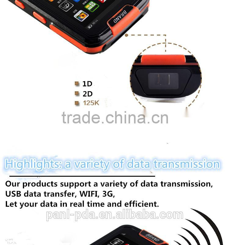 CARIBE PL-40L Ab035 RFID GPS 2D Barcode Scanner IP65 Rugged Tablet PC for Industrial