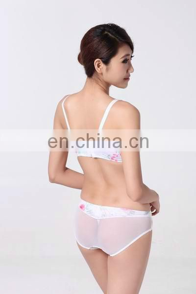 Women underwear latest hot fashion sexy cup bra & string rose mesh (Miss Adola)