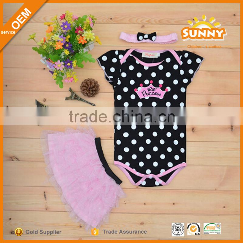 Custom Logo Wholesale Baby Girls Mustard Pie Clothing Sets Cute Baby Girl Boutique Clothing Sets