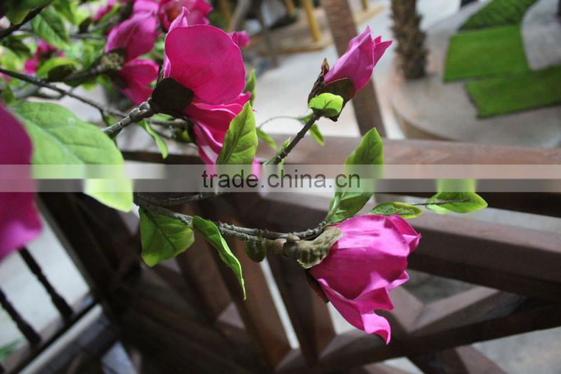 artificial blooming tree outdoor/indoor factory decoration artificial yulan tree