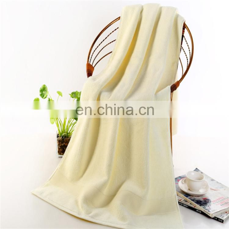 Wholesale Excellent Absorption 100% Cotton Bath Towel