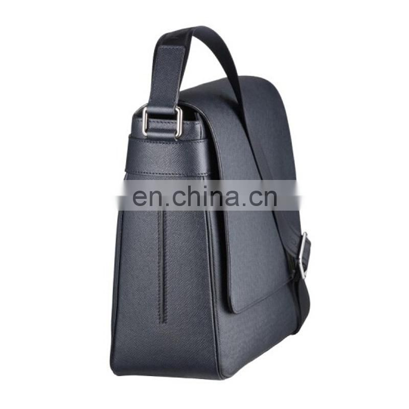 Silver mens top quality shoulder bag