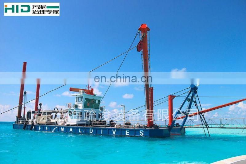 Gold dredger 20 inch sand cutter suction dredger HID-6024P for sale