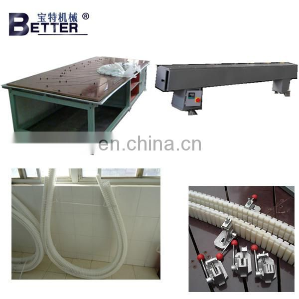 Round PVC window bending machine