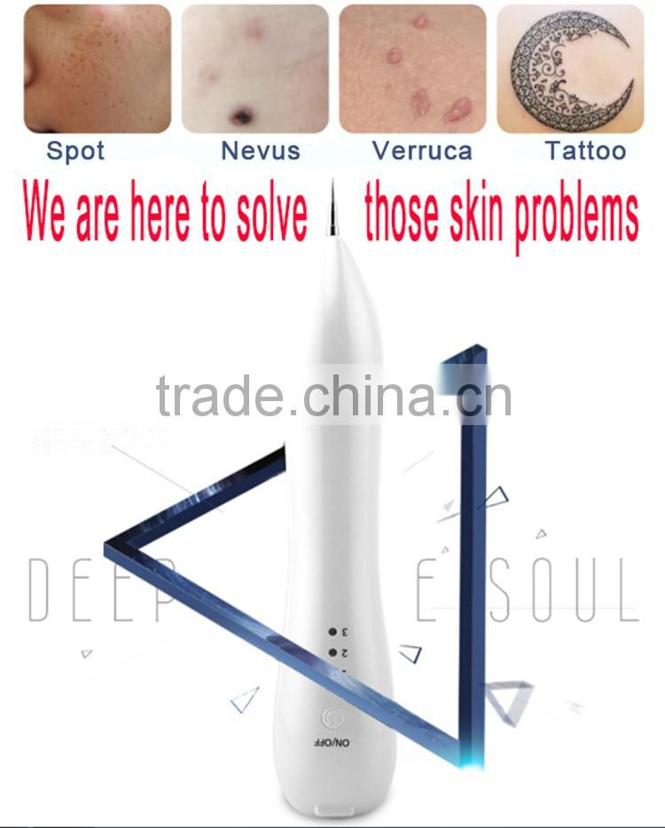 Professional Anti-Aging Verruca nevus pigment electric ion carbonation beauty therapy equipment