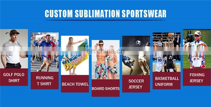 custom dry fit 100 polyester sports wear sublimation t shirt manufacturers