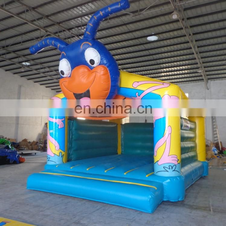 new style Bee cartoon moonwalk Inflatable Bug Bouncer