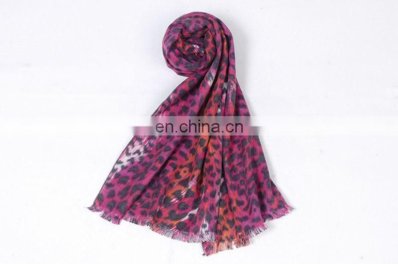 Classical Leopard Printed Winter Scarf