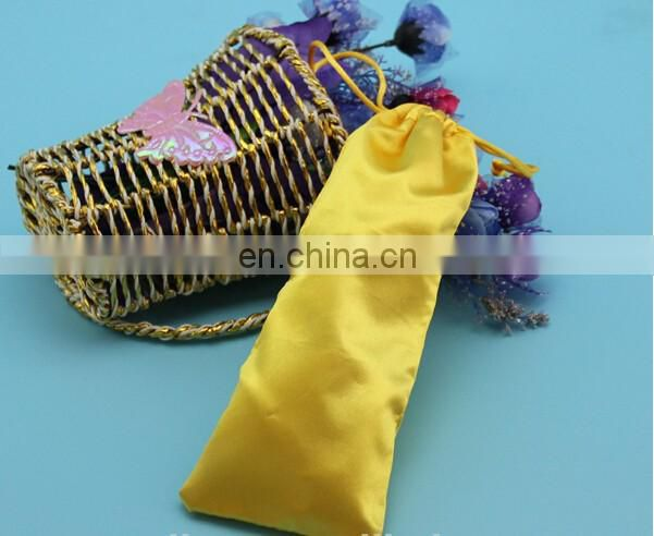 Satin and silk bags for hair /hair packaging / drawstring pouch