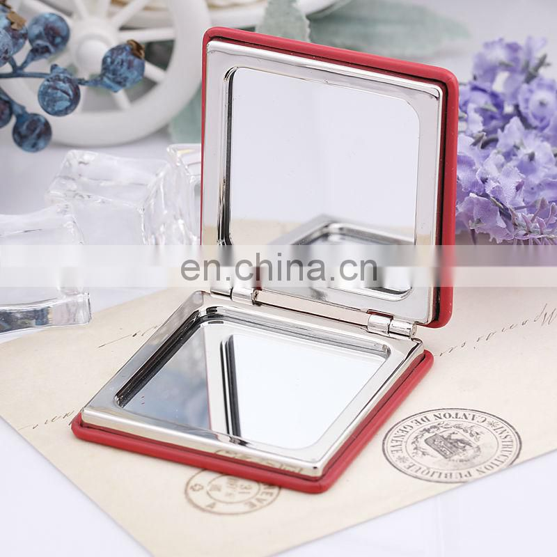 SQUARE MAKEUP MIRROR MERRY-GO-ROUND PROMOTIONAL COMPACT MIRRORS