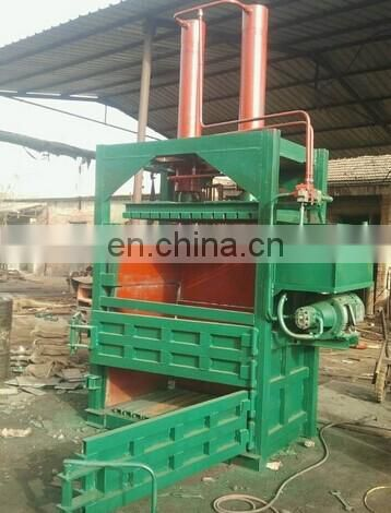 hydraulic baler/cardboard baling press machine/factory price