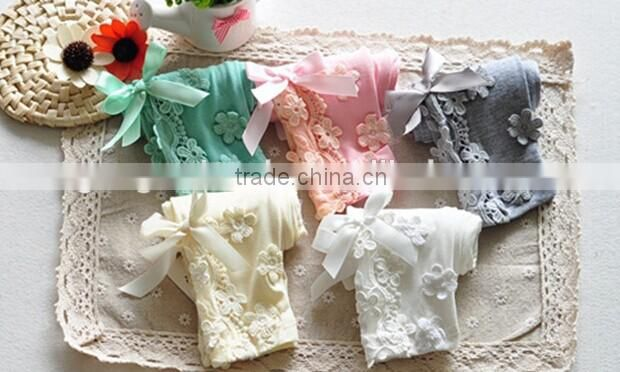 Infant Clothings Cotton Leggings 2015 Spring