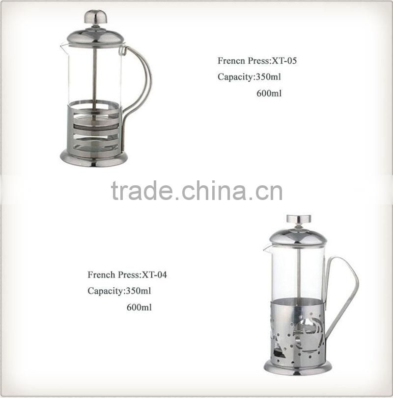 attractive and durable french coffee press