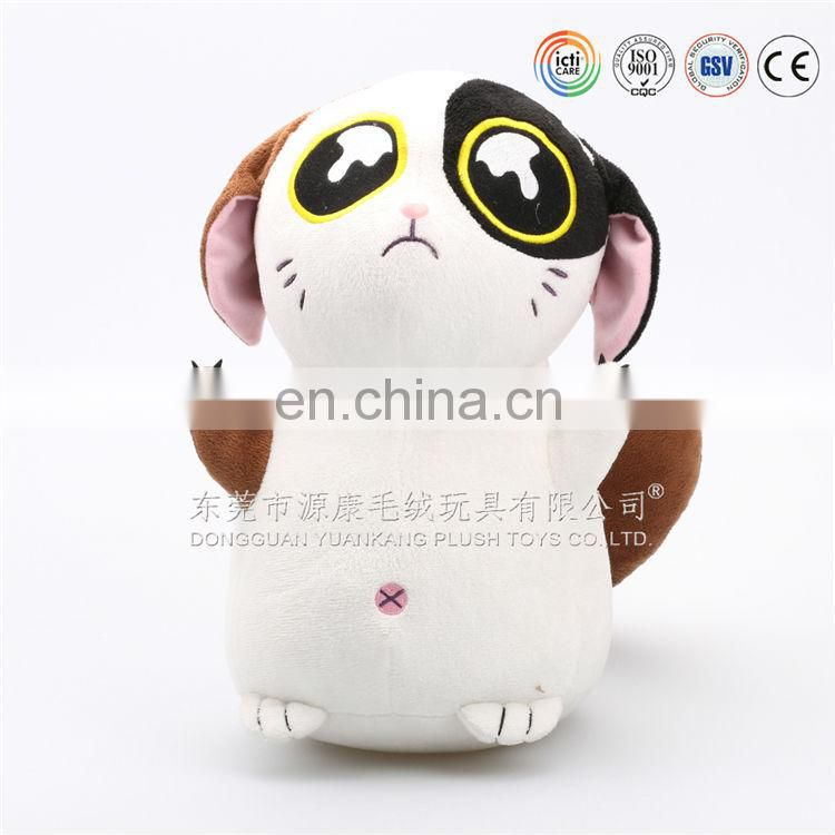 Lovely stuffed plush mascot toys OEM plush factory meet CE and EN71 testing