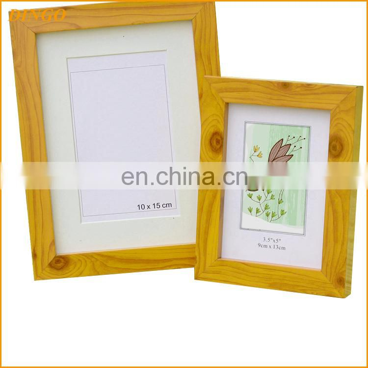 2017 Hot selling Desk and shelf display paper photo frame, photo paper frame