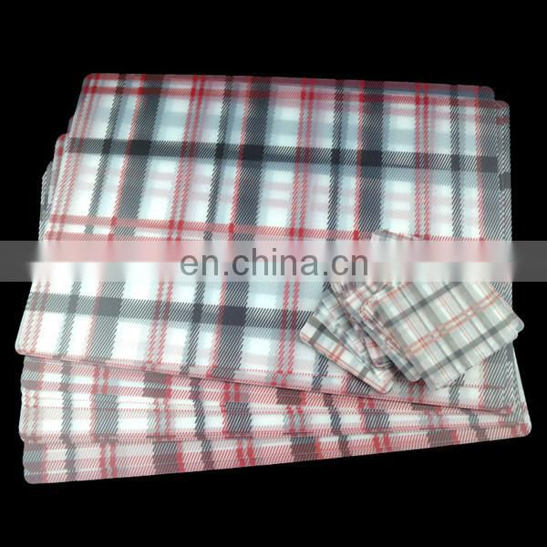 plastic table plate mat for dining