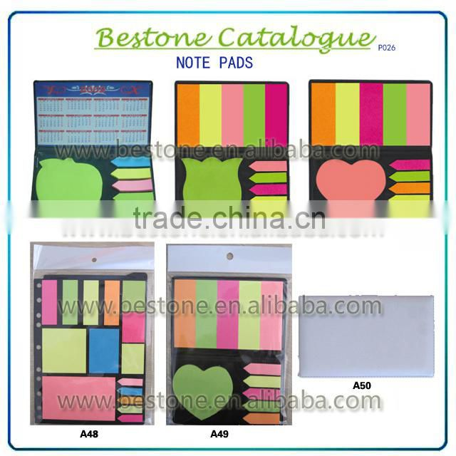 promotional die cut memo pad stylish adhesive notes it post note sticky notepads