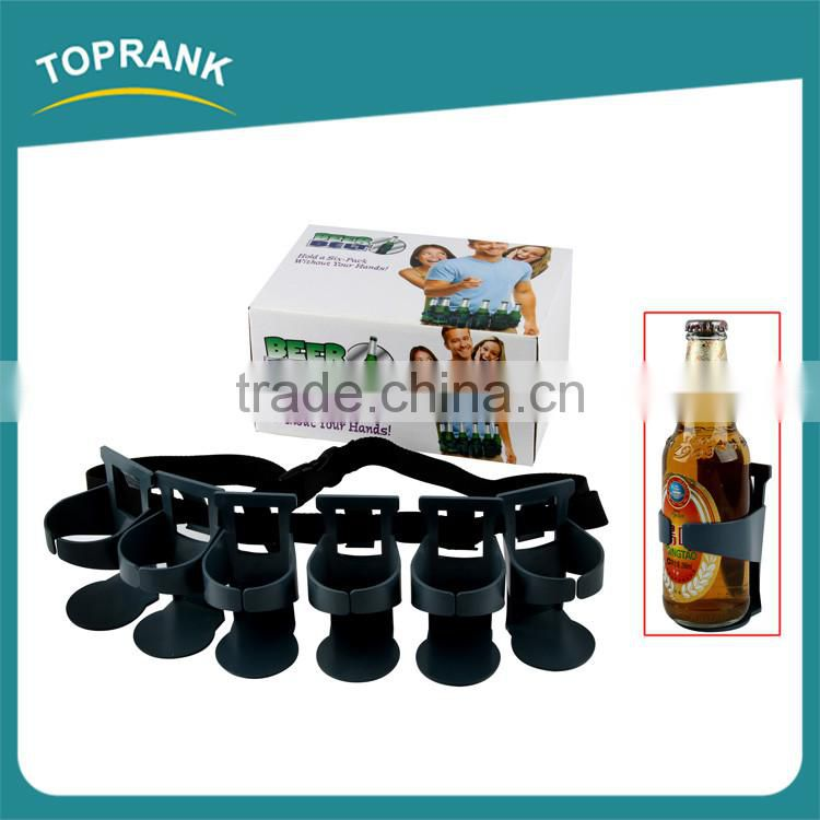 6 pack waist beer can wine bottle holder portable beer holder belt