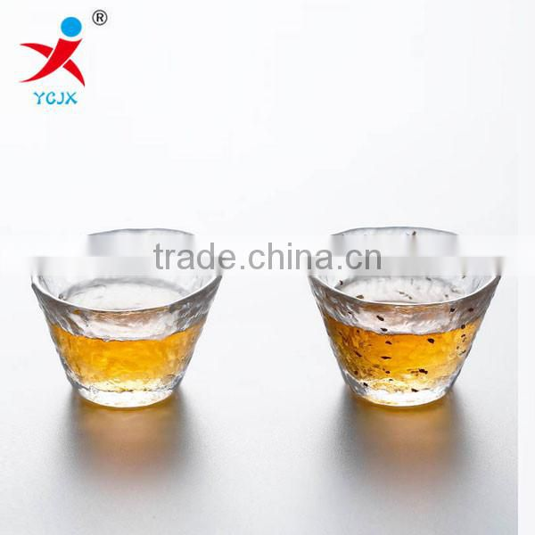 Japan imported high-grade handmade glass cups sample tea cup individual cup of kung fu tea set small cup