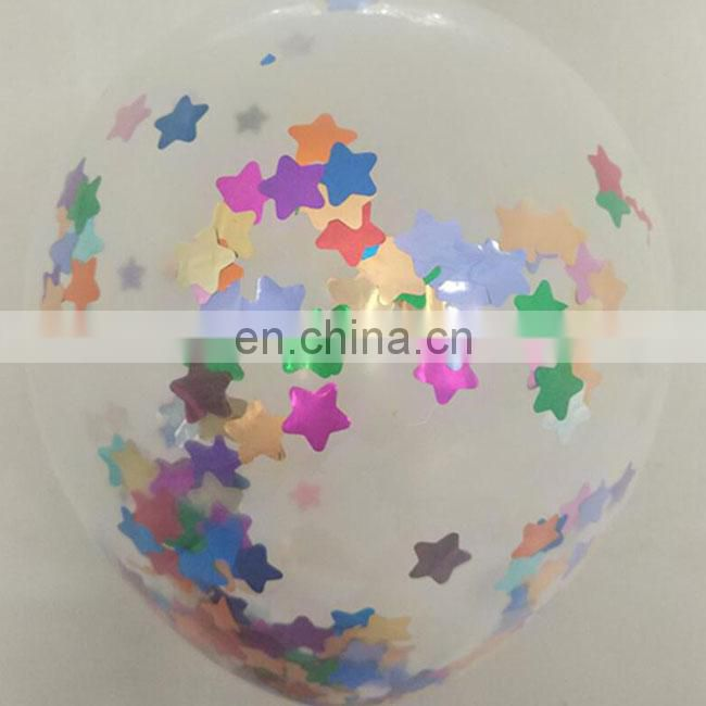 confetti balloons 12 inch 36 inch clear transparent party wedding decoration confetti balloon