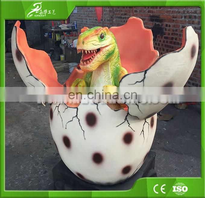 Interesting playground remote control toy hatching baby dinosaur egg