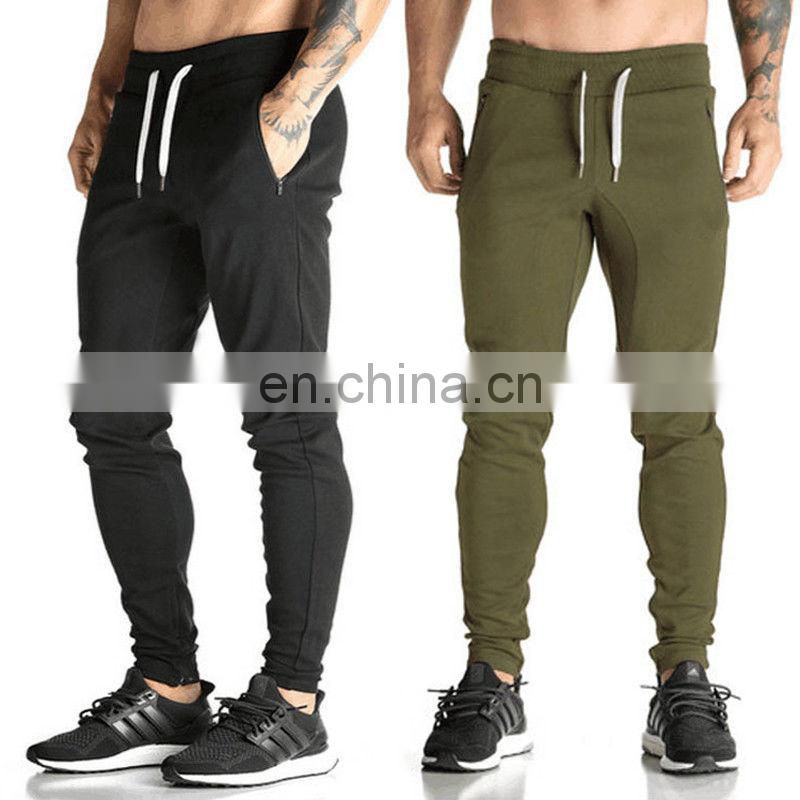 2018 Fashion Mens Gym Fitness Sweats Pants Workout Joggers Gym Wear Sport Trousers US