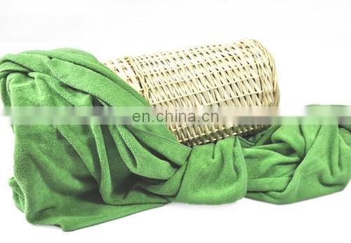 Wholesale custom super soft microfiber terry face towel