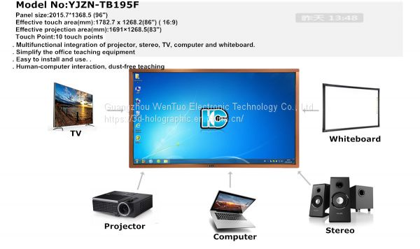Factory Prices Digital Interactive Infrared Touch Electronic