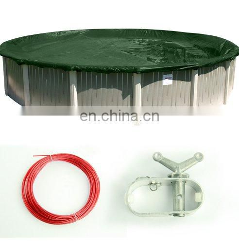 "3"" Aluminium Above Ground Swimming Pool Winter Cover Cable Winch"