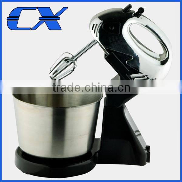 High Quality Stand Mixer With 2L Stainless Steel Bowl, Egg Beater