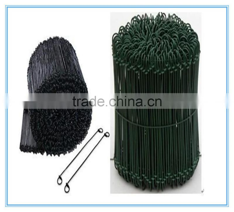 black annealed bag tie wire/Loop tie wire made in china