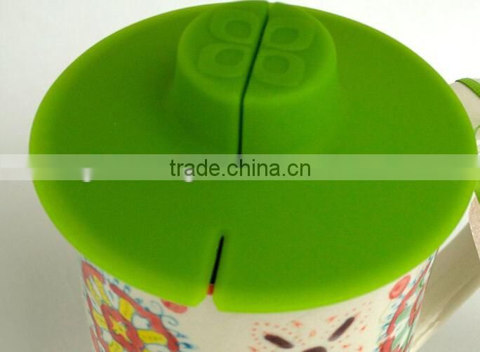 silicone cup cover secure tea bag holder