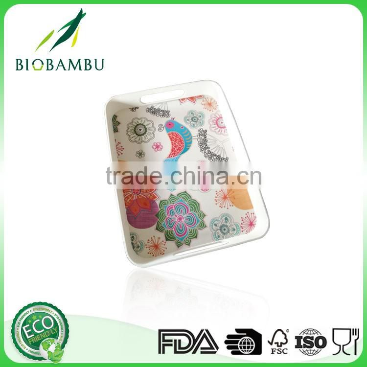 Practical OEM available Reasonable price bamboo fiber plate made in China